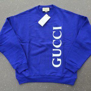Gucci Casual Sweatshirt Men's NWT 100% Cotton